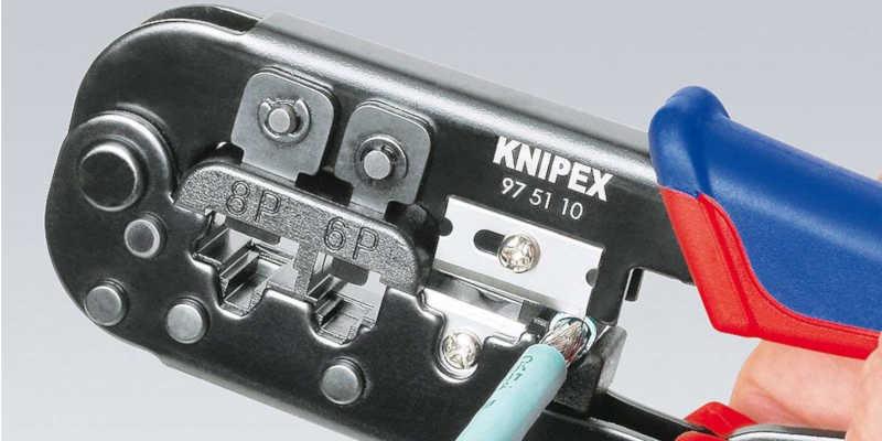 Crimpadora Rj45 Knipex precio precios comprar barata baratas barato baratos grimpadora cripadora alicate alicates