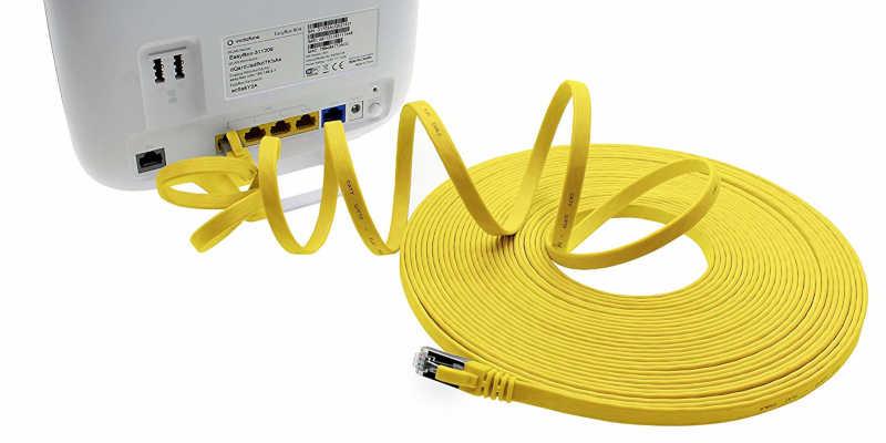 Rollo de cable plano UTP Categoría 6
